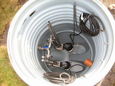 Bradford sump pump